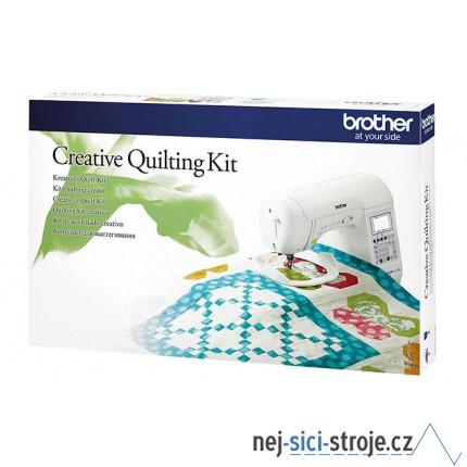 Příslušenství Brother - Quiltovací set QKF3 (pro řadu F400, F410)