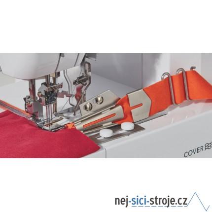 Příslušenství Brother - coverlock - zakladač pro šikmý proužek CV 3550 - XB3388001