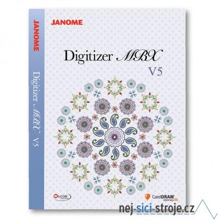 Janome digitizer MBX ver. 5.0 Profi Corel