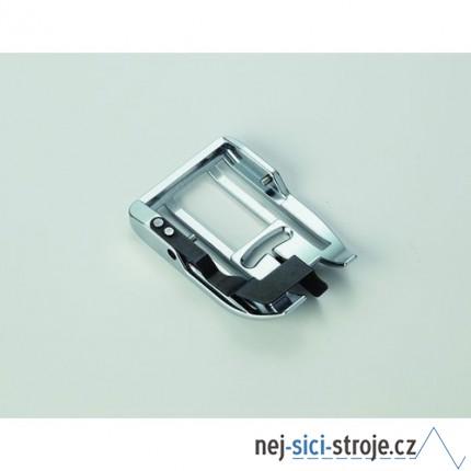Příslušenství Janome - patka horního podávání s vodičem (rotační chapač 9 mm)