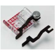 Příslušenství Janome - patka s nastavitelným vodičem (rotační chapač 9 mm)