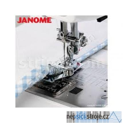 Příslušenství Janome - patka pro lemování textilní páskou (rotační chapač 9 mm)
