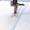 Příslušenství Janome - otevřená patka pro šití aplikací (rotační chapač 9 mm)
