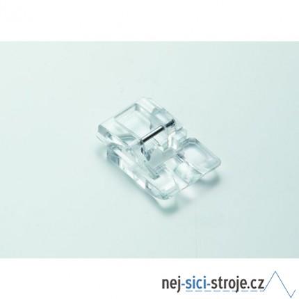 Příslušenství Janome - patka pro všívání perel a korálků (rotační chapač 9 mm) šíře 4mm