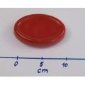 Magnetický jehelníček - červený
