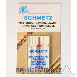 Dvojjehla - rozpich 2mm
