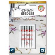 Jehly pro šicí stroje ORGAN - VYŠÍVACÍ 5x75