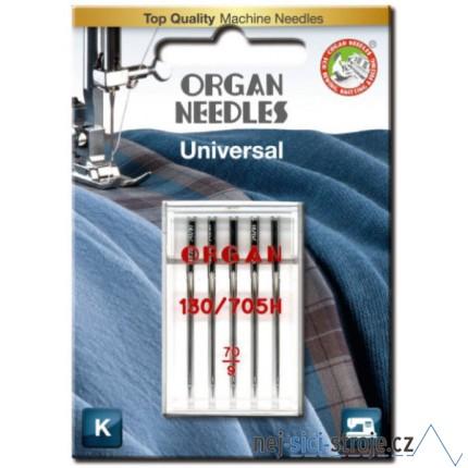 Jehly pro šicí stroje ORGAN č.70