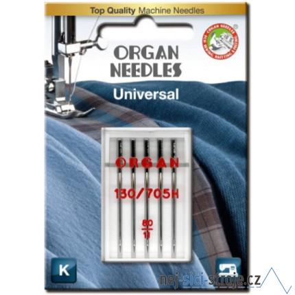 Jehly pro šicí stroje ORGAN č.80