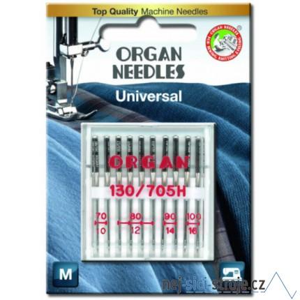 Jehly pro šicí stroje ORGAN MIX