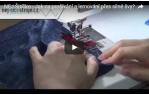video návod ukázka NEJ šitíčko - modré