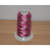 Melírovaná quiltovací nit růžová