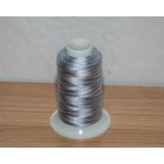 Melírovaná quiltovací nit šedá