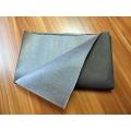 Nažehlovací trhací materiál - černý 1m x 1m