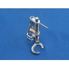 příslušenství Veronica - otevřená patka pro volné quiltování-kovová