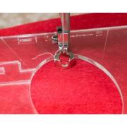 Příslušenství - Quiltovací patka pro pravítka, velikost M