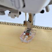 Příslušenství Bernette - průhledná patka pro patchwork 1/4 palce