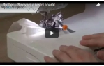video návod ukázka Příslušenství Janome - plisovací patka - ruffler ( CB chapač )