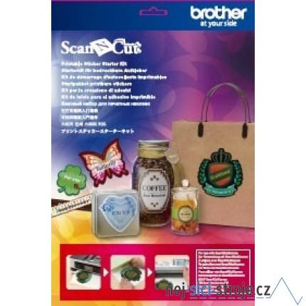 Příslušenství pro plotry - Potisknutelné nálepky starter kit ScanNCut