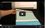 video návod ukázka Příslušenství pro plotry - Náhradní adhezní podložka Cameo 30*30cm