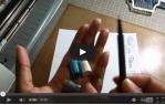 video návod ukázka Příslušenství pro plotry - Držák pera, tužky atd. NEW Pro kreslení obrazů