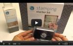 video návod ukázka Příslušenství pro plotry - Razítkovací starter kit