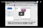 video návod ukázka Příslušenství pro plotry - Rhinestone starter kit ScanNCut