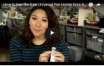video návod ukázka Příslušenství pro plotry - Univerzální držák per pro ScanNCut