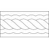 Quiltovací pravítko bordura cop NP-C21