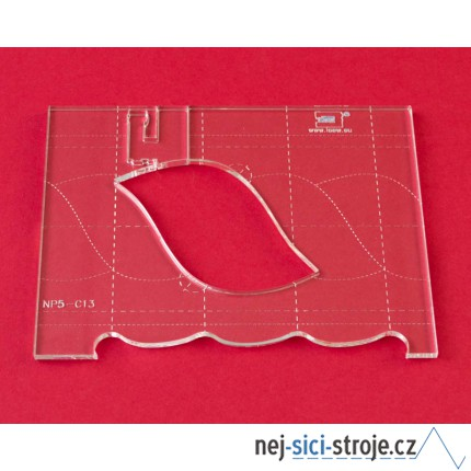 Quiltovací pravítko bordura cop NP5-C13 (5 mm)