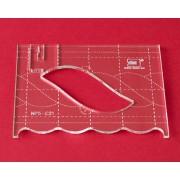 Quiltovací pravítko bordura cop NP5-C21 (5 mm)