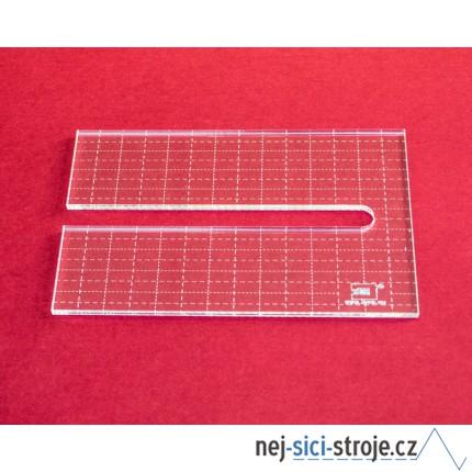 Quiltovací pravítko piáno NP5-D2 (5 mm)