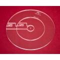 Quiltovací pravítka kruhy 3ks NP5-K1 (5 mm)