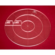 Quiltovací pravítka kruhy 3 ks NP5-K2 (5 mm)