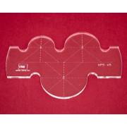 Quiltovací pravítka kruhy NP5-K5 (5 mm)