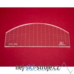 Quiltovací pravítko oblouk NP5-R06 (5 mm)