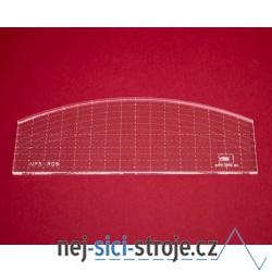 Quiltovací pravítko oblouk NP5-R09 (5 mm)