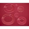 Sada quiltovacích pravítek kruhy - 2x3 ks (5 mm)