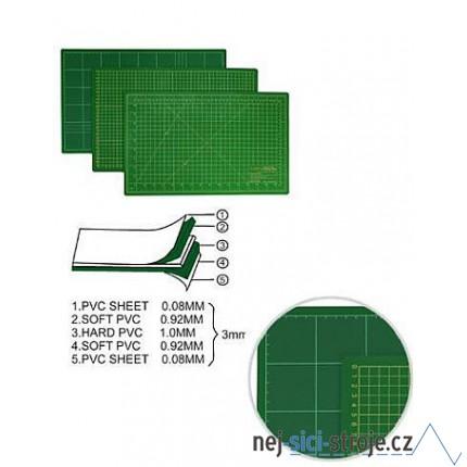 Oboustranná řezací podložka 45x30 cm
