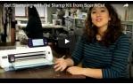 video návod ukázka Příslušenství pro plotry - Razítkovací Starter kit ScanNCut