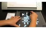 video návod ukázka Silhouette škrabka / hladítko