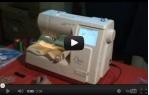 video návod ukázka Vyšívací stroj Bernina Bernette 340 deco