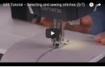 video návod ukázka Šicí stroj Bernette 33