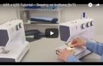 video návod ukázka Šicí stroj Bernette 35