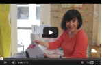 video návod ukázka Šicí a vyšívací stroj Bernette Sublime Chicago 7