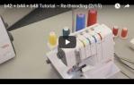 video návod ukázka Overlock Bernette Funlock 44
