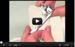 video návod ukázka Coverlock a overlock Bernina 1300 MDC