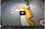video návod ukázka Šicí stroj Bernina Aurora 450