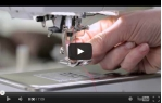 video návod ukázka Šicí a vyšívací stroj Bernina 720