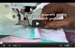 video návod ukázka Šicí stroj Bernina 740
